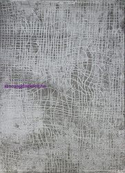 Ber DIZAYN 2329 Szürke 120X180Cm Dombor Mintás Szőnyeg