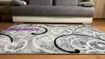 Modern szőnyeg, Platin szürke 1181 200x280cm