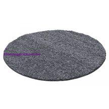 Ay life 1500 sötétszürke 80cm egyszínű kör shaggy szőnyeg