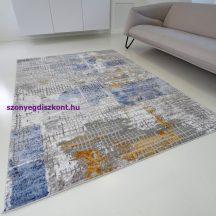 Modern szőnyeg akció, ZARIF 007 kék-arany 80x150cm