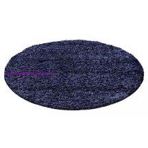 Ay life 1500 kék 120cm egyszínű kör shaggy szőnyeg