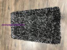 Eleysa Fekete Shaggy Szőnyeg, 60X110Cm Szőnyeg
