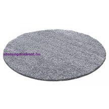 Ay life 1500 világos szürke 160cm egyszínű kör shaggy szőnyeg