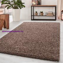 Ay dream 4000 mokka 80x150cm egyszínű shaggy szőnyeg