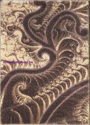 Hosszú Szálú Szőnyeg, Ber Seher 3D 2654 120X180Cm  Barna-Bézs Szőnyeg