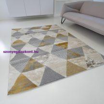 Modern szőnyeg akció, ZARIF 9928 bézs-arany 160x220cm