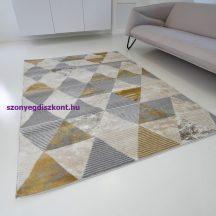 Modern szőnyeg akció, ZARIF 9928 bézs-arany 80x150cm