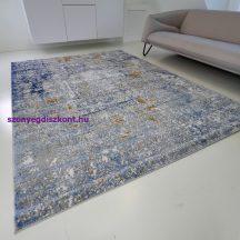 Modern szőnyeg akció, ZARIF 005 kék-arany 200x280cm