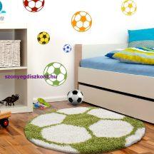Ay fun 6001 zöld 120cm gyerek shaggy szőnyeg