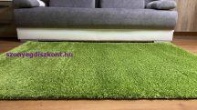 Prémium zöld shaggy szőnyeg 120x170cm