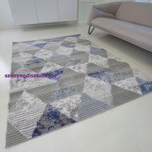 Modern szőnyeg akció, ZARIF 9928 szürke-kék 80x150cm