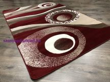 Modern szőnyeg, Platin piros 3774 120x170cm szőnyeg