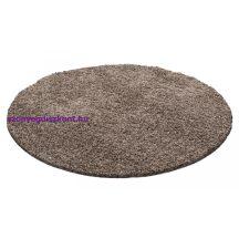 Ay life 1500 mokka 200cm egyszínű kör shaggy szőnyeg