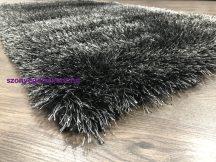Ber Seven fekete shaggy szőnyeg  160x220cm