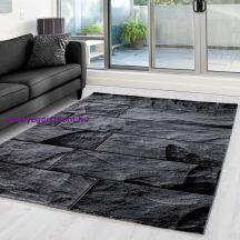 Ay parma 9250 fekete 80x150cm modern szőnyeg akciò