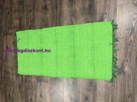 Rongyszőnyeg 60X120Cm F Zöld Szőnyeg