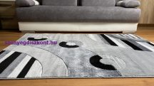 Modern szőnyeg, Platin szürke 3775 60x100cm