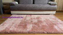 Prémium púder shaggy szőnyeg 80x150cm