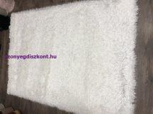 Kd Mala Fehér 170X240Cm Luxus Shaggy Szőnyeg