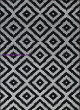 Ber Art 1639 Black 80X150Cm Szőnyeg