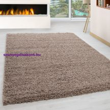 Ay life 1500 bézs 160x230cm egyszínű shaggy szőnyeg