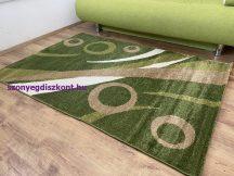 Kyra 931 zöld 80x150cm - modern szőnyeg