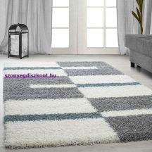 Ay gala 2505 türkiz 280x370cm - shaggy szőnyeg akció