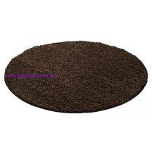 Ay life 1500 barna 120cm egyszínű kör shaggy szőnyeg