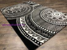 Egyedi Szőnyeg, Moonlight 1411 Fekete 80Szett=80X250Cm+ 2X 80X150Cm Szőnyeg -Csillogó Szállal Kombinálva