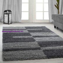 Ay gala 2505 szürke 80x150cm - shaggy szőnyeg akció