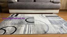 Modern szőnyeg, Platin szürke 3702 80x150cm