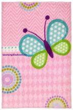 Nagyon Puha Ob My Lollipop 120X170Cm 184 Butterfly Szőnyeg