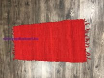 Rongyszőnyeg 60X120Cm F Pirosas-Bordós Szőnyeg