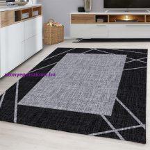 Ay parma 9350 fekete 80x150cm modern szőnyeg akciò
