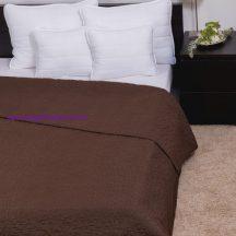 Ágytakaró Clara barna márvány 235x250cm