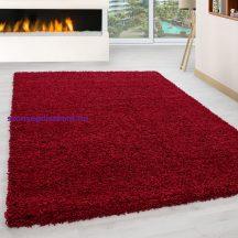 Ay life 1500 piros 140x200cm egyszínű shaggy szőnyeg