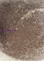 Ber DIZAYN 2218 Bézs 120X180Cm Dombor Mintás Szőnyeg