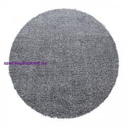 Ay ancona világos szürke 160cm - kör shaggy szőnyeg