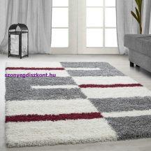 Ay gala 2505 piros 100x200cm - shaggy szőnyeg akció