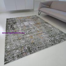 Modern szőnyeg akció, ZARIF 005 zöld-arany 80x150cm