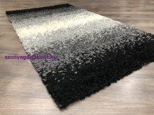 Hosszú Szálú Szőnyeg, Trend 480 Fekete 60X110Cm Shaggy Szőnyeg