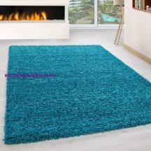 Ay life 1500 türkiz 100x200cm egyszínű shaggy szőnyeg