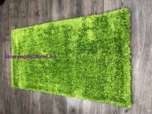 Shaggy Szőnyeg, Egyszínű, Puffy 60X110Cm Zöld Szőnyeg