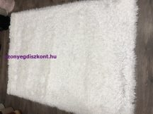 Kd Mala Fehér 70X140Cm Luxus Shaggy Szőnyeg