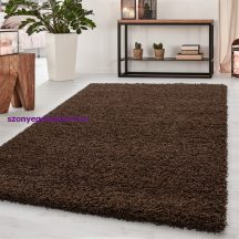 Ay dream 4000 barna 60x110cm egyszínű shaggy szőnyeg