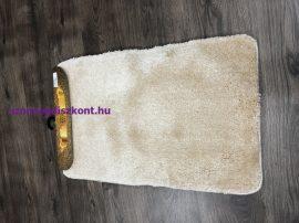 Fürdőszobai szőnyeg Sebano nagyon puha 1 rèszes 50x80cm egyszínű krém