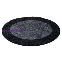 Ay life 1503 antracit 200cm - kör shaggy szőnyeg akció