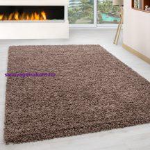 Ay life 1500 mokka 60x110cm egyszínű shaggy szőnyeg