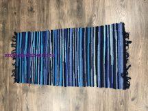 Rongyszőnyeg 60X120Cm A Kék Szőnyeg
