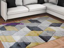 Modern szőnyeg, Franc 8797 sárga 200x290cm szőnyeg